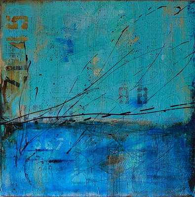 Painting - Weathered #5 by Lauren Petit