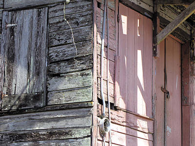 Photograph - Weathered And Abandoned In Jamaica  by Ann Powell