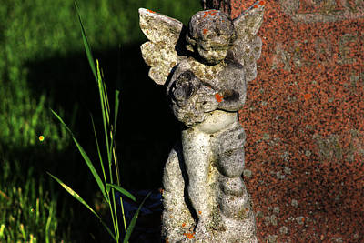 Photograph - Weathered Angel by Jim Vance