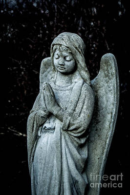 Our Lady Of Mt Carmel Photograph - Weathered Angel by Tim Kravel