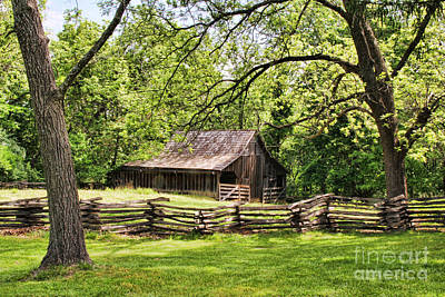 Photograph - Weathered Barn by Crystal Nederman