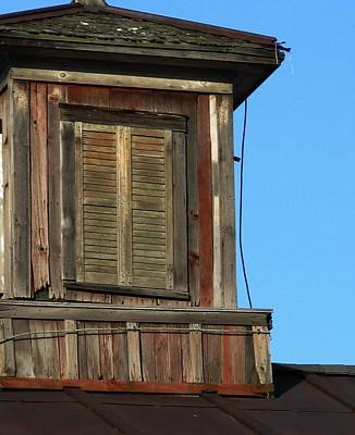 Photograph - Weathered Cupola by Debbie Finley
