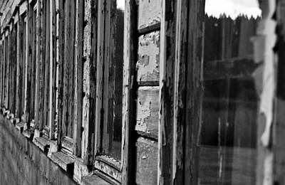 Photograph - Weathered by David Stine