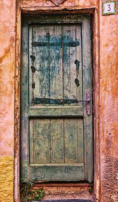 Photograph - Weathered Door 2 by Allen Beatty