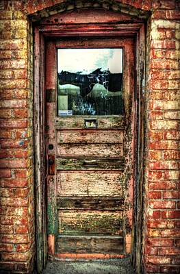 Photograph - Weathered Door by Amber Summerow