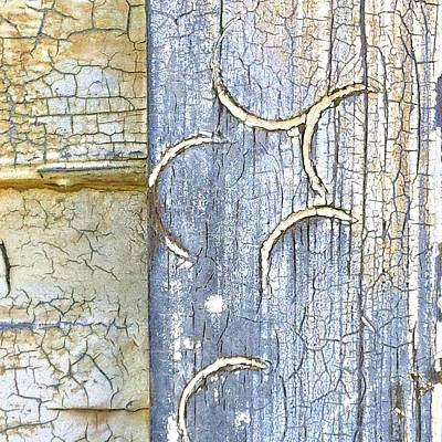 Texture Photograph - Weathered by Julie Gebhardt