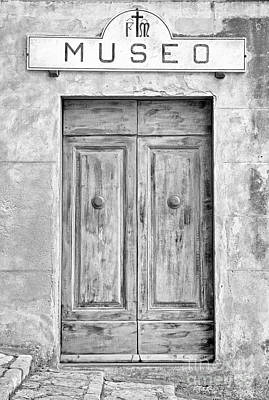 Photograph - Weathered Museo Door by Kate McKenna