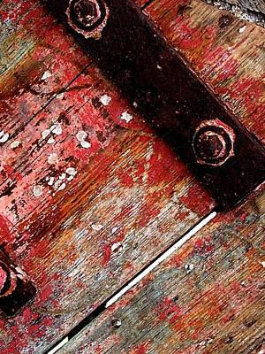 Photograph - Weathered Paint by Julie Grandfield