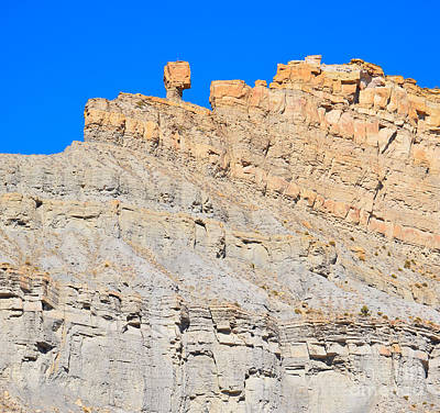Photograph - Weathered Rock Formation by Mark Spearman