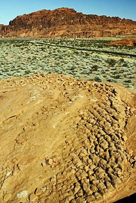 Nevada Photograph - Weathered Rock by Jennifer Robin