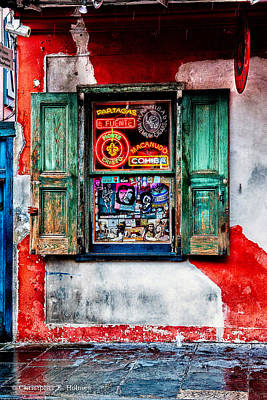 Photograph - Weathered Shop by Christopher Holmes