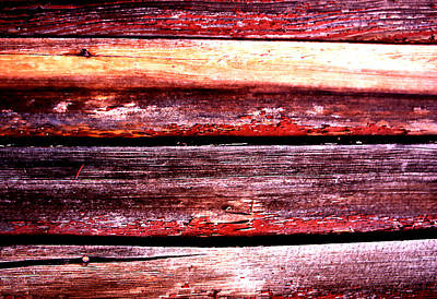 Photograph - Weathered Siding by Robert  Rodvik