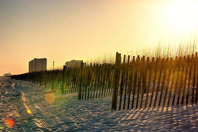 Photograph - Weathered Sunset by Sennie Pierson