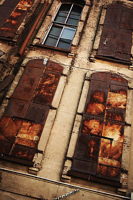 Urban Exploration Photograph - Weathered by Thomas Zimmerman