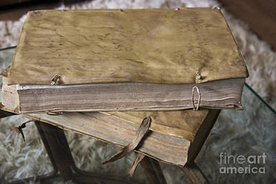 Weathered Tomes Of Old Art Print by Al Bourassa