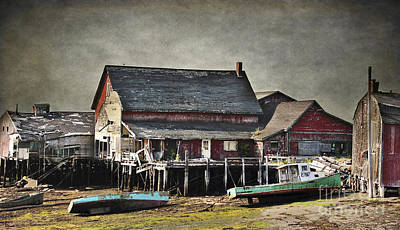 Photograph - Weathered Village by Karin Pinkham