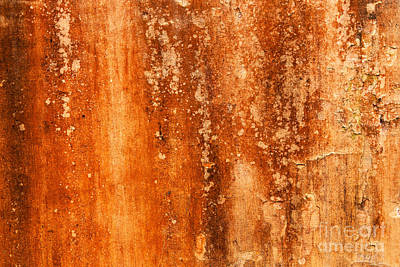 Photograph - Weathered Wall 04 by Rick Piper Photography