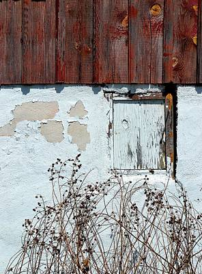 Photograph - Weathered Window by Deena Stoddard