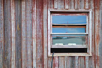 Shed Digital Art - Weathered Window I by Paulette B Wright