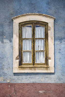 Photograph - Weathered Window Of Old World Europe by David Letts
