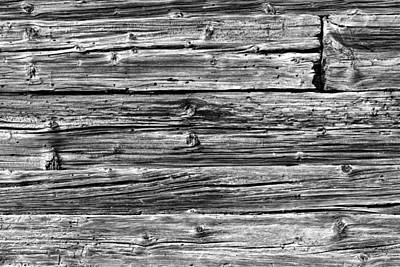 Photograph - Weathered Wood 2 by Charles Lupica