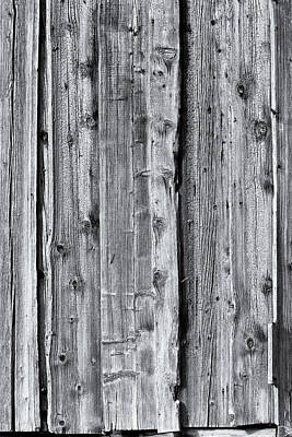 Photograph - Weathered Wood 4 by Charles Lupica