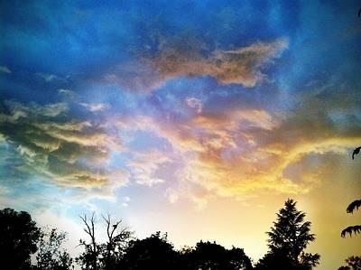 Weathering Sky Art Print