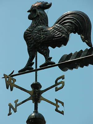 Valerie Paterson Wall Art - Photograph - Weathervane by Valerie Paterson