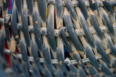 Photograph - Weave Pattern by Teresa Blanton