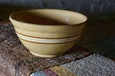 Mixing Bowls Photograph - Weaver's Bowl #2 by Nikolyn McDonald