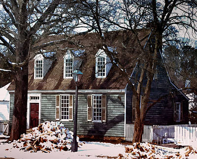 Painting - Weavers Cottage by Shari Nees