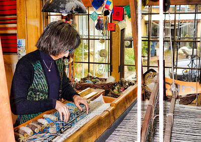 Photograph - Weaving Perfection In Chimayo by Robert Meyers-Lussier