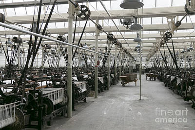 Harle Wall Art - Photograph - Weaving Shed Queen Street Mill Burnley by Peter McHallam
