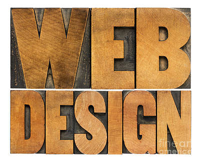 Web Design  Art Print