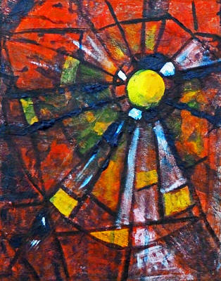 Modern Mixed Media - Web by Nancy Merkle