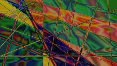 Digital Art - Web Of Despair by Photo Shirts