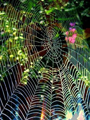 Web Of Entanglement Print by Shirley Sirois