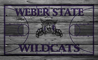 Weber State Wildcats Art Print