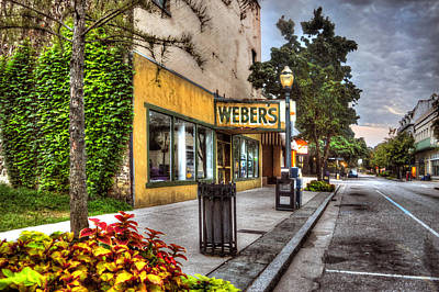 Photograph - Webers In Mobile Alabama by Michael Thomas