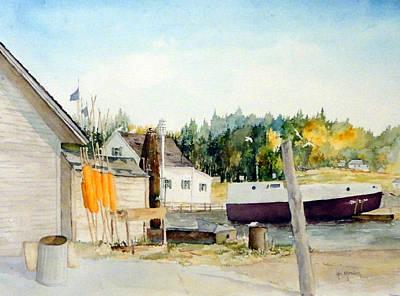 Painting - Weborgs by Ken Marsden