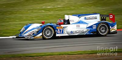 Photograph - Wec Racing Car by David Warrington