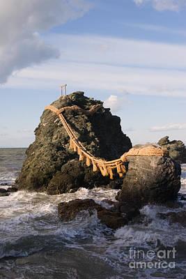 Iwa Photograph - Wedded Rocks Meoto Iwa by Ei Katsumata