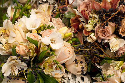 Photograph - Wedding Bouquets 01 by Rick Piper Photography
