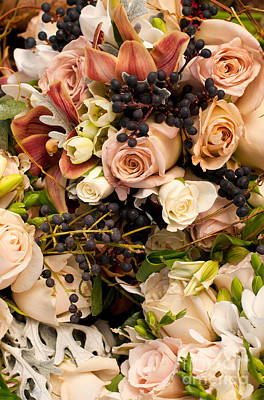 Photograph - Wedding Bouquets 02 by Rick Piper Photography