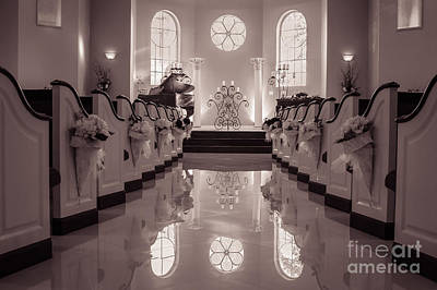 Photograph - Wedding Chapel by Imagery by Charly