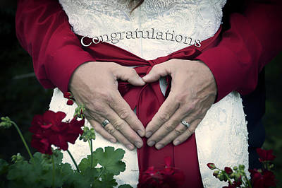 Elegant Engagement Ring Photograph - Wedding Congratulations by Thomas Woolworth