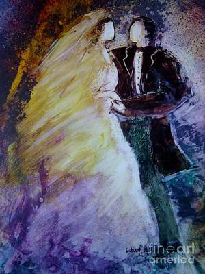 Betrothed Painting - Wedding Dance by Deborah Nell