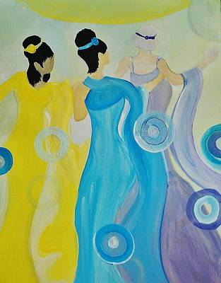 Painting - Wedding Dance by Kelly Turner