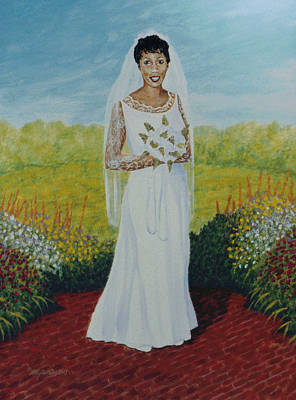 Wedding Day Art Print by Stacy C Bottoms