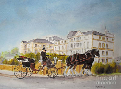 Painting - Wedding Imperial Hotel Hythe by Beatrice Cloake